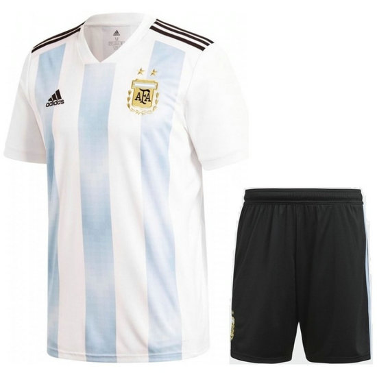 Ensemble Foot Argentine Adulte Domicile 2018/2019 Coupe Du Monde