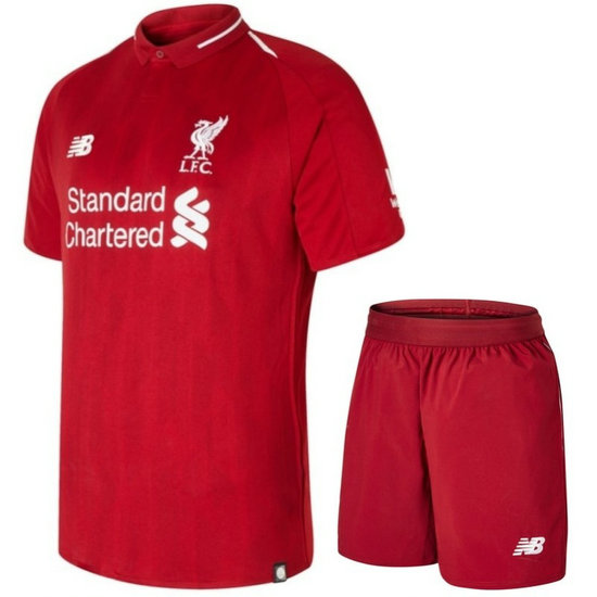 Ensemble Foot Liverpool Adulte 2018/2019 Domicile