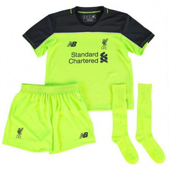 Ensemble Foot Liverpool Enfant 2016/2017 Third