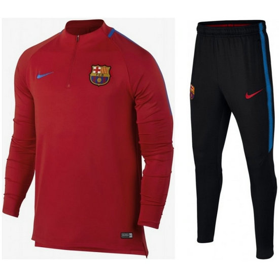 Survetement Football Barcelone 2017/2018 Homme Rouge