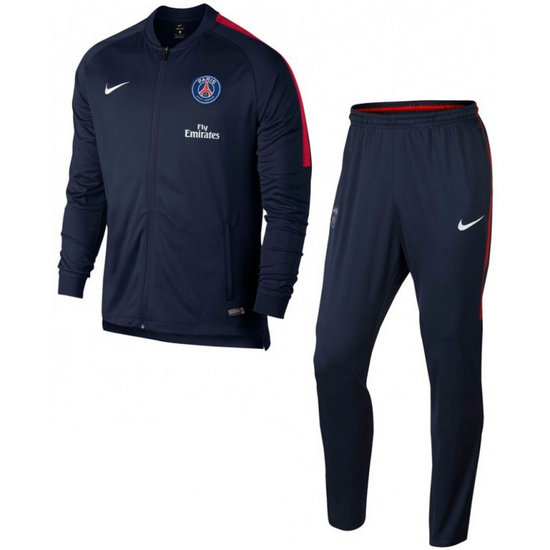Survetement Football PSG Paris Saint Germain 2017/2018 Homme Marine