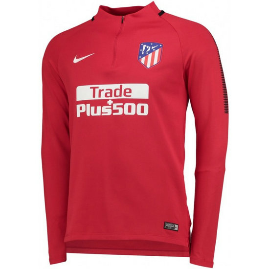 Sweat Foot Atletico Madrid 2017/2018 Homme Rouge