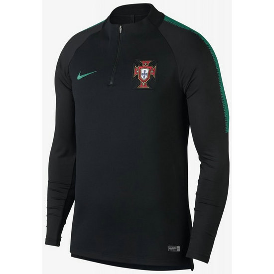 Sweat Foot Portugal 2018/2019 Coupe du Monde Homme Noir