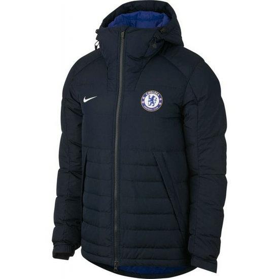 Doudoune matelass/ée th/ème football /à capuche homme Chelsea FC officiel