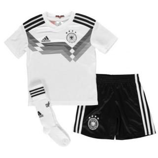 Ensemble Foot Allemagne Enfant Domicile 2018/2019 Coupe du Monde Rabais en ligne