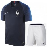 Paris Ensemble Foot Equipe de France Adulte Domicile 2018/2019 Coupe Du Monde