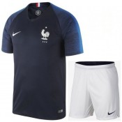 Nouvelle Collection Ensemble Foot Equipe de France Enfant Domicile 2018/2019 Coupe Du Monde