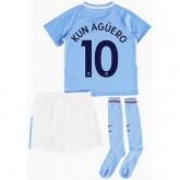 Achetez Ensemble Foot Manchester City Enfant AGUERO 2017/2018 Domicile
