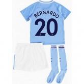 Vente Privée Ensemble Foot Manchester City Enfant BERNARDO SILVA 2017/2018 Domicile