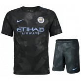 Ensemble Foot Manchester City Junior 2017/2018 Third Personnalisé