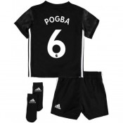 Promotions Ensemble Foot Manchester United Bébé POGBA 2017/2018 Extérieur