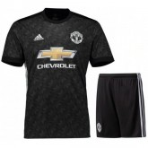 Ensemble Foot Manchester United Junior 2017/2018 Extérieur Soldes