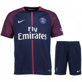 Ensemble Foot PSG Paris Saint Germain Adulte 2017/2018 Domicile Pas Cher