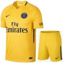 Prix Ensemble Foot PSG Paris Saint Germain Junior 2017/2018 Paris Saint Germain Maillot Short Extérieur
