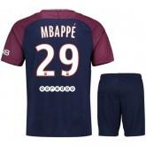 Achat de Ensemble Foot PSG Paris Saint Germain MBAPPE Adulte 2017/2018 Domicile