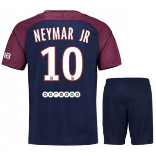 Ensemble Foot PSG Paris Saint Germain NEYMAR Junior 2017/2018 Domicile Promotions
