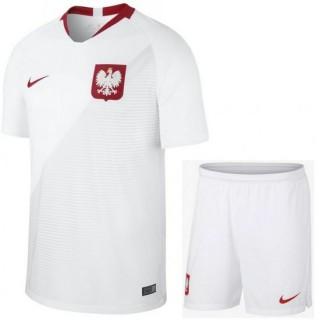Ensemble Foot Pologne Adulte Domicile 2018/2019 Coupe Du Monde Ventes Privées