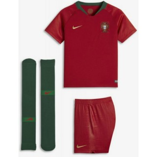 Ensemble Foot Portugal Enfant Domicile 2018/2019 Coupe du Monde Officiel