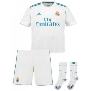 Mode Ensemble Foot Real Madrid Enfant 2017/2018 Domicile