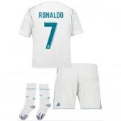Boutique Ensemble Foot Real Madrid Enfant RONALDO 2017/2018 Domicile En Ligne