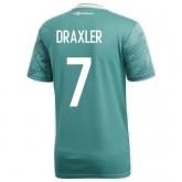 Site Maillot Allemagne DRAXLER Extérieur 2018/2019 Coupe du Monde