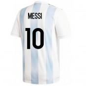 Maillot Argentine Enfant MESSI Domicile 2018/2019 Coupe du Monde Promo prix