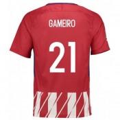 Acheter Maillot Atletico Madrid GAMEIRO 2017/2018 Domicile