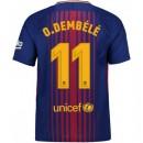 Maillot Barcelone DEMBÉLÉ 2017/2018 Domicile Remise prix