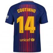 2018 Nouvelle Maillot Barcelone Enfant COUTINHO 2017/2018 Domicile