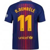 FR Maillot Barcelone Enfant DEMBÉLÉ 2017/2018 Domicile