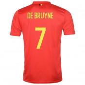 FR Maillot Belgique DE BRUYNE Domicile 2018/2019 Coupe du Monde
