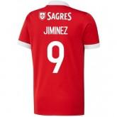 Promotions Maillot Benfica JIMENEZ 2017/2018 Domicile
