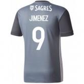 Maillot Benfica JIMENEZ 2017/2018 Extérieur Soldes Nice
