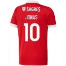 Maillot Benfica JONAS 2017/2018 Domicile Acheter
