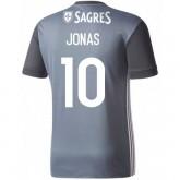Maillot Benfica JONAS 2017/2018 Extérieur France Magasin