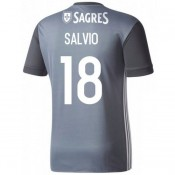 Maillot Benfica SALVIO 2017/2018 Extérieur Soldes