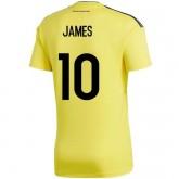 Maillot Colombie Enfant JAMES Domicile 2018/2019 Coupe du Monde Rabais prix
