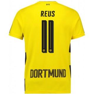 Maillot Dortmund BVB REUS 2017/2018 Domicile Personnalisé