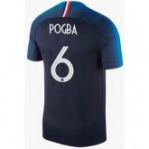 Maillot Equipe de France Enfant POGBA Domicile 2018/2019 Coupe du Monde Pas Cher Prix