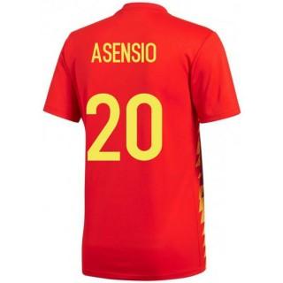Maillot Espagne ASENSIO Enfant Domicile 2018/2019 Coupe du Monde Boutique France