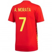 La Boutique Officielle Maillot Espagne MORATA Enfant Domicile 2018/2019 Coupe du Monde