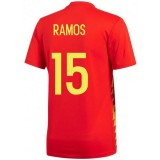 Maillot Espagne SERGIO RAMOS Domicile 2018/2019 Coupe du Monde la Vente à Bas Prix
