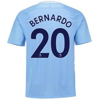 Promotions Maillot Manchester City BERNARDO SILVA 2017/2018 Domicile