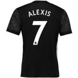 Boutique de Maillot Manchester United ALEXIS 2017/2018 Extérieur