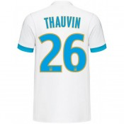 Maillot OM Olympique de Marseille THAUVIN 2017/2018 DOM Olympique de Marseilleicile Vente En Ligne