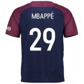 Maillot PSG Paris Saint Germain Enfant MBAPPE 2017/2018 Domicile PasCher Fr
