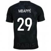 Maillot PSG Paris Saint Germain Enfant MBAPPE 2017/2018 Third Soldes