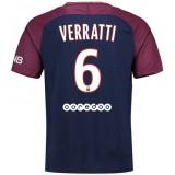 Soldes Maillot PSG Paris Saint Germain Enfant VERRATTI 2017/2018 Domicile