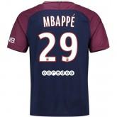 Maillot PSG Paris Saint Germain MBAPPE 2017/2018 Domicile Rabais prix