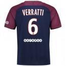 Maillot PSG Paris Saint Germain VERRATTI 2017/2018 Domicile Prix En Gros